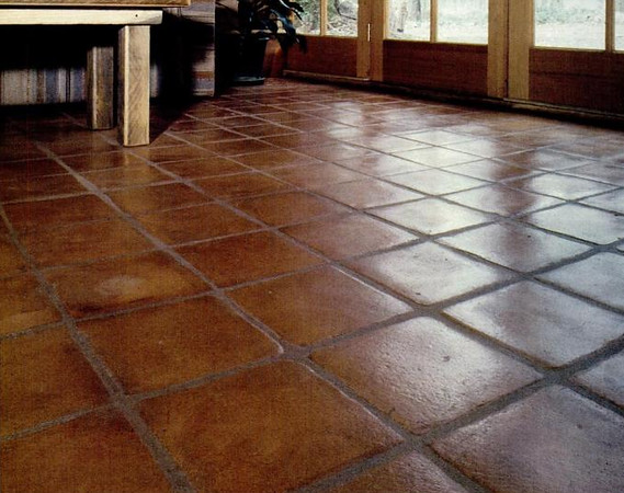 Tamped Earth Flooring