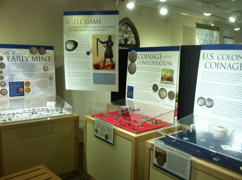 Money Museum Colorado Springs Display