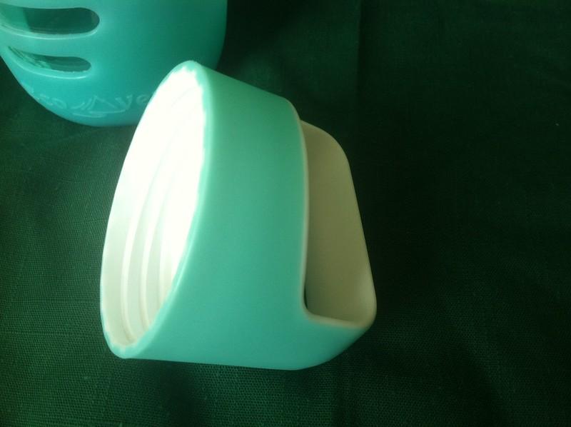Eco Vessel Surf Glass Water Bottle cap