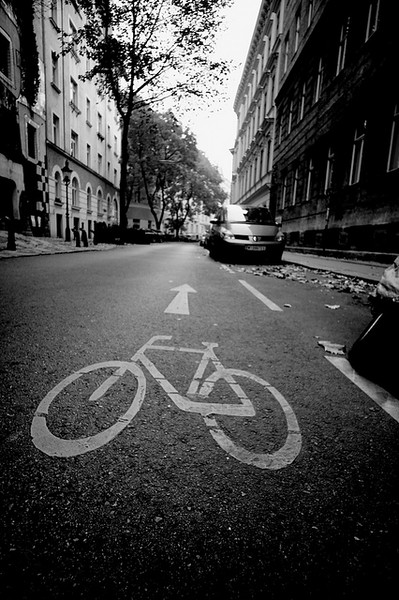 Vienna Austria Bike Lane