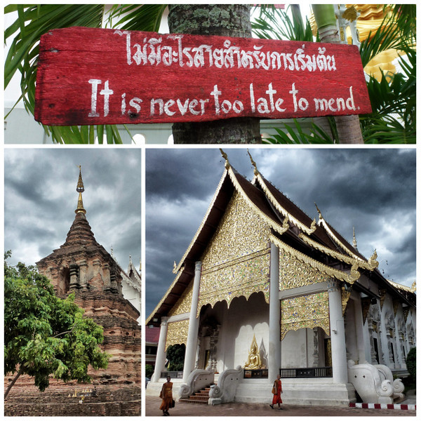 Temples & Monks In Chiang Mai