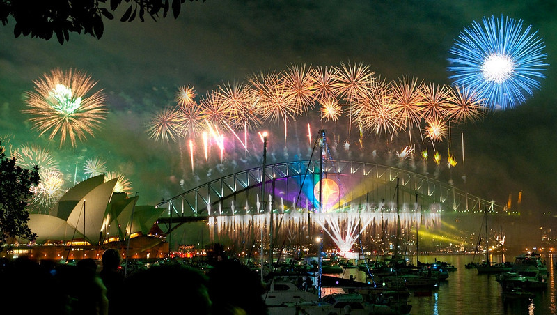 fun places to spend New Year's Eve in Sydney
