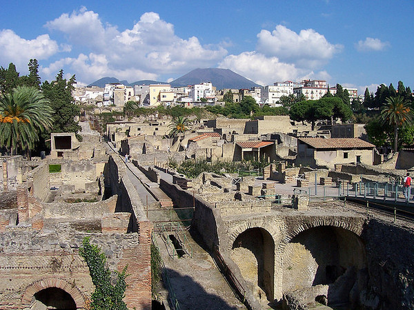 The Ruins - Pompeii and Herculaneum, Italy