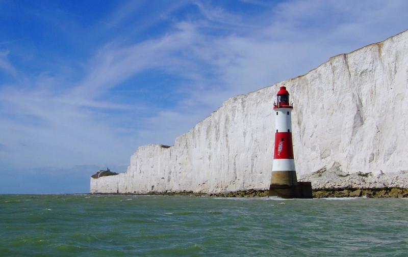 Beachy Head in England