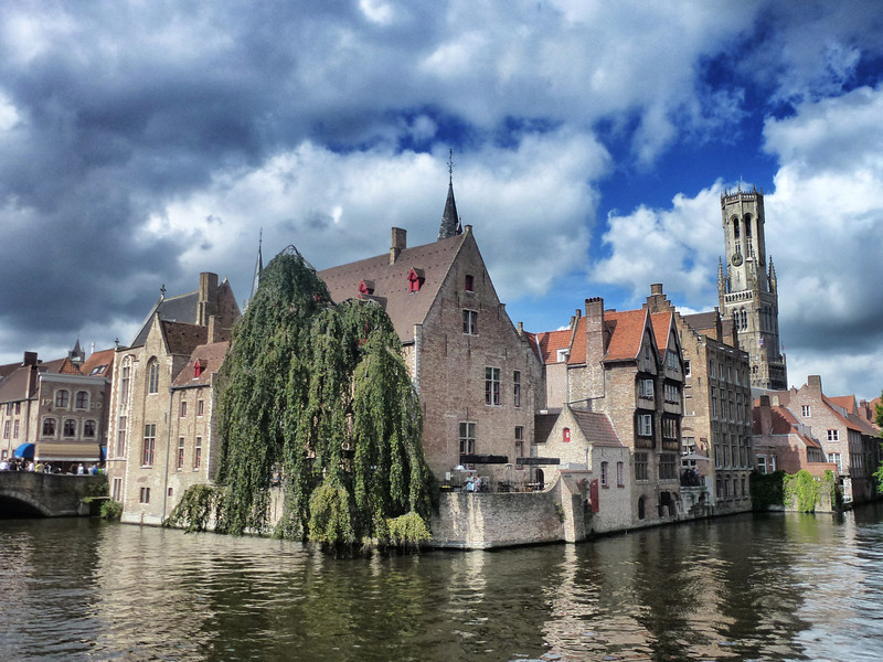 Bruges was a town taken out of a fairy tale