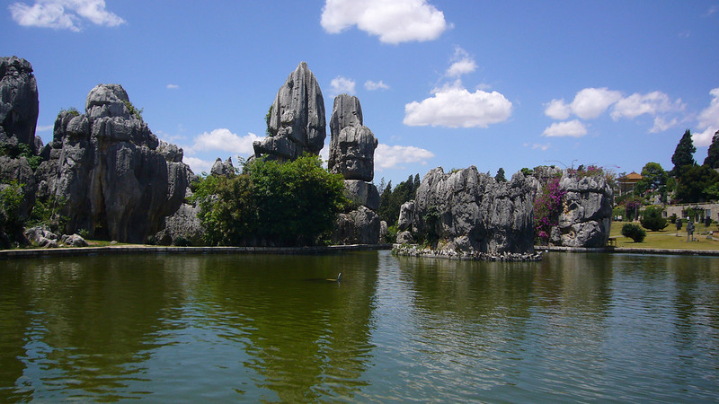 Yunnan Stone Forest in China