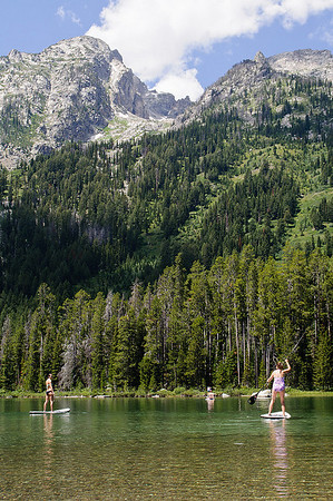 Stand up Paddle Boards Grand Teton National Park