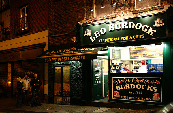 famous Fish n Chip shop Leo Burdock