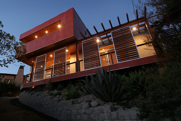 Recycled Modern Home