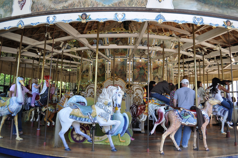 Attractions at San Francisco's Golden Gate Park, Golden Gate Park Carousel