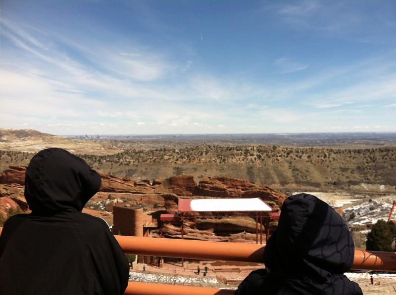 Red Rock Amphitheater Denver Colorado