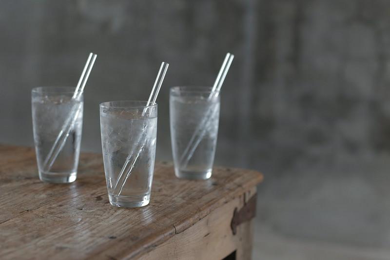 Hummingbird Reusable Glass Drinking Straws