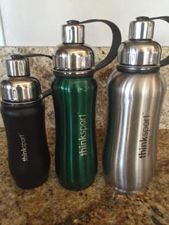 Thinksport water bottles