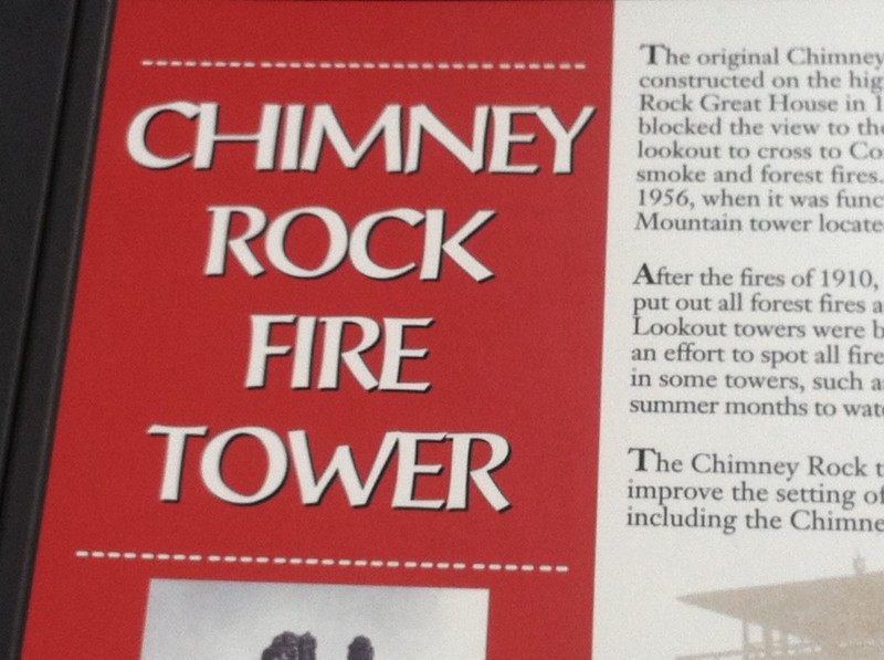 Chimney Rock Tower