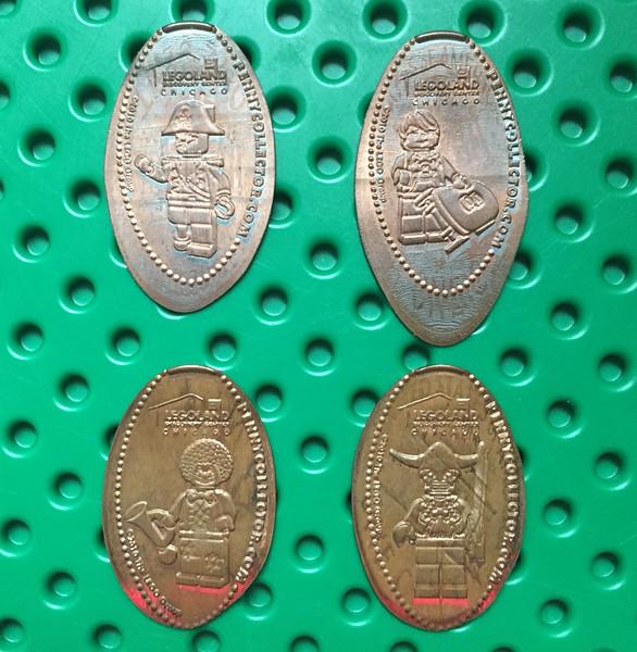 Legoland Flat Pennies