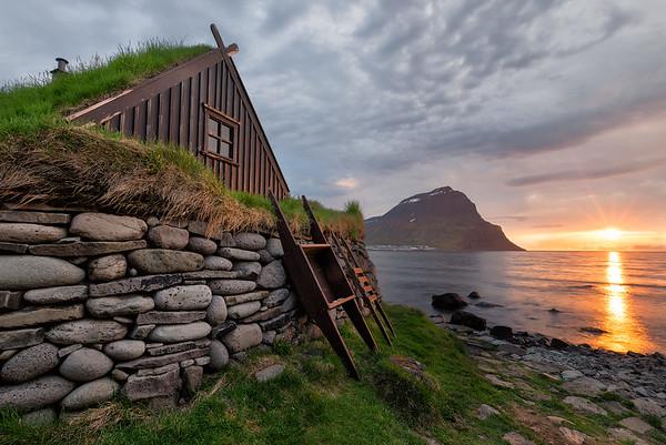 Iceland Farm Coast