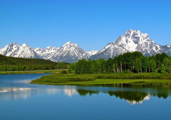 Grand Teton National Park and neighboring Jackson Hole