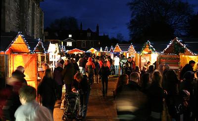 Shopping At Christmas Markets InSalzburg DuringEuropean Winter Break
