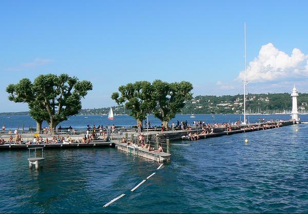 Geneva - Bains des Pâquis