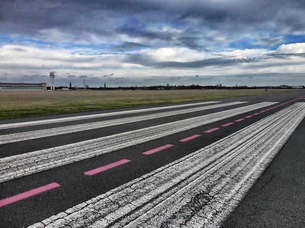 Tempelhof Airport in Berlin