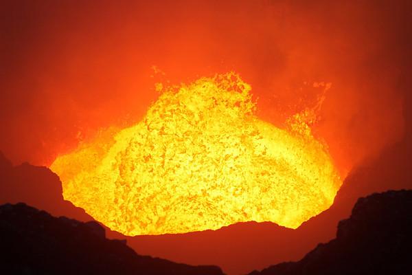 Ambrym volcano in Vanuatu