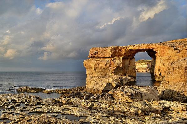 Mediterranean Coast Gozo Malta