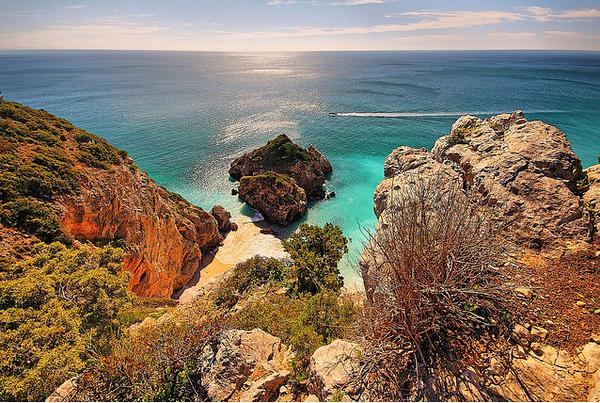 Portugal coastal road