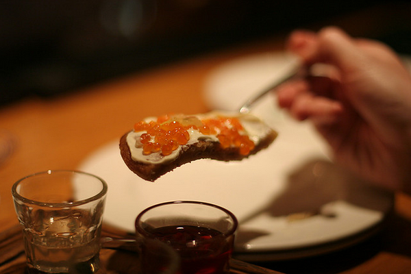 Caviar & Vodka Tasting