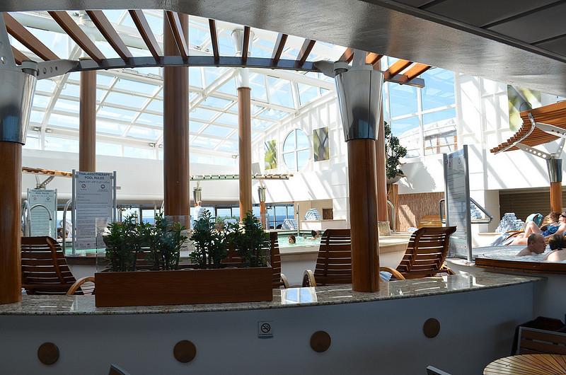 Celebrity Infinity conservatory