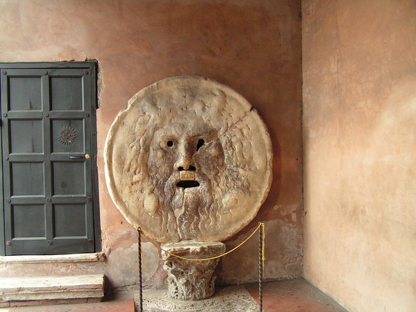 Try Your Luck At La Bocca della Verita