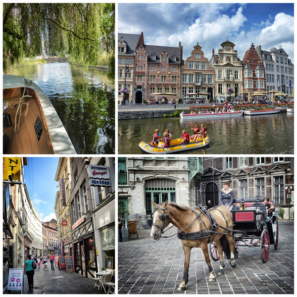 Ghent is a very authentic town