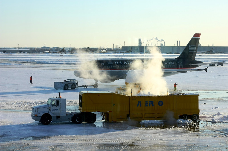 Air Travel during winter
