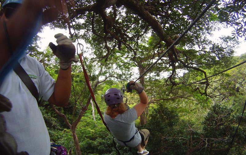 Adventurous Side When Traveling Zip Lining