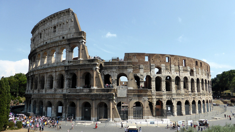 7 Wonders of the World - The Colosseum, Italy