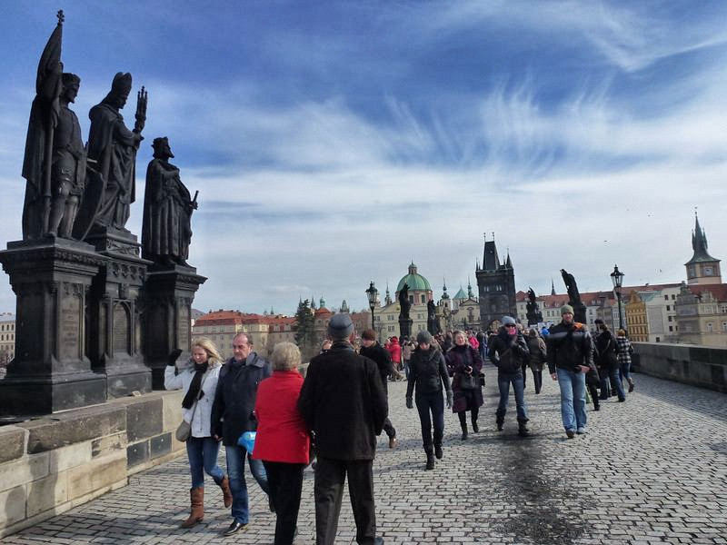 Prague's Charles Bridge