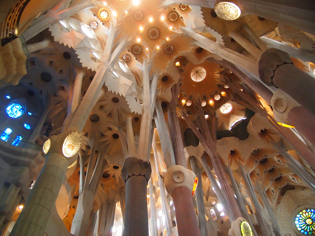 Sagrada Familia or Church of the Sacred Family Unfinished Church